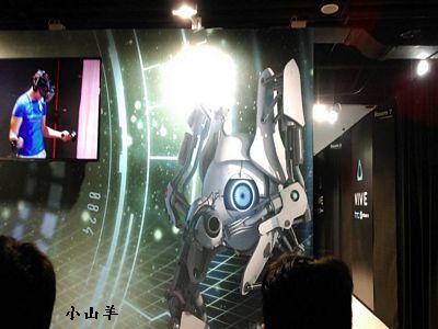 htc vive虛擬實境頭戴設備