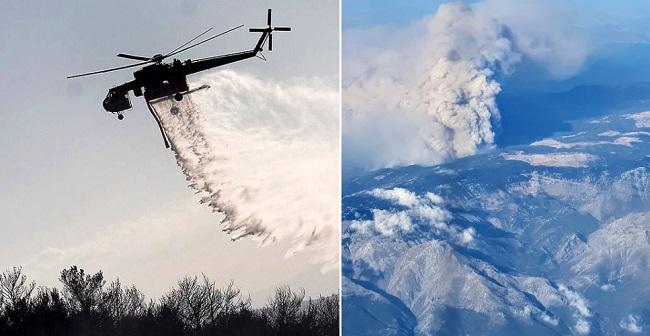 Ανεξέλεγκτη η φωτιά στην Εύβοια, εκκενώνονται 2 χωριά - Αποπνικτική ατμόσφαιρα στην Αττική, συναγερμός στο ΚΕΕΛΠΝΟ