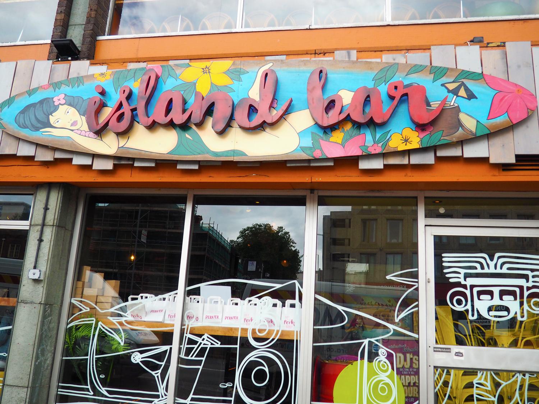 #BloggerTikiParty Island Bar