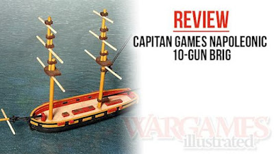 Wargames Illustrated Reviews 10mm Napoleonic Naval Range