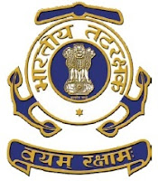 Indian Coast Guard, New Delhi, 12th, freejobalert, Latest Jobs, Hot Jobs, Clerk, LDC DEO, indian coast guard logo