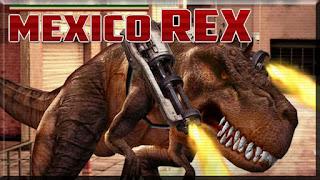 لعبة الديناصور اكس