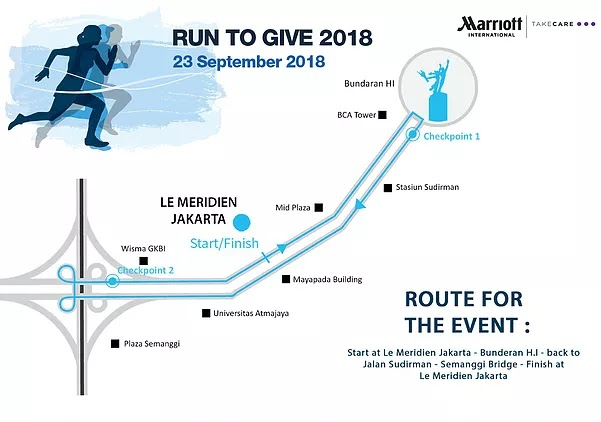 Map Run To Give - Jakarta • 2018