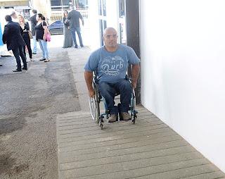 Erlon Machado: acessibilidade excelente e ambiente interno bem adaptado