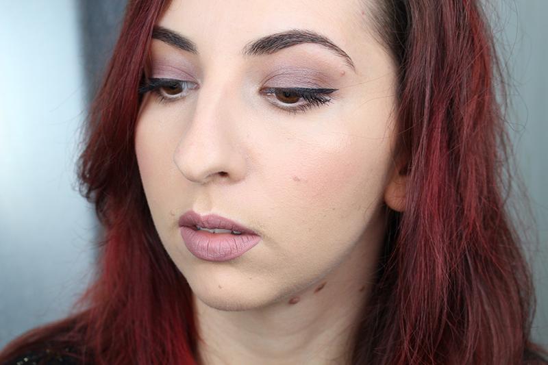 tutoriel automne ton froid maquillage