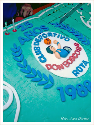 Tarta baloncesto club don bosco
