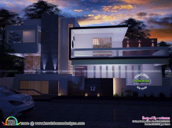 Luxury contemporary 5 bedroom home