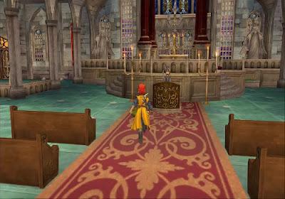 Dragon Quest VIII - El Periplo del Rey Maldito - Catedral de Savella