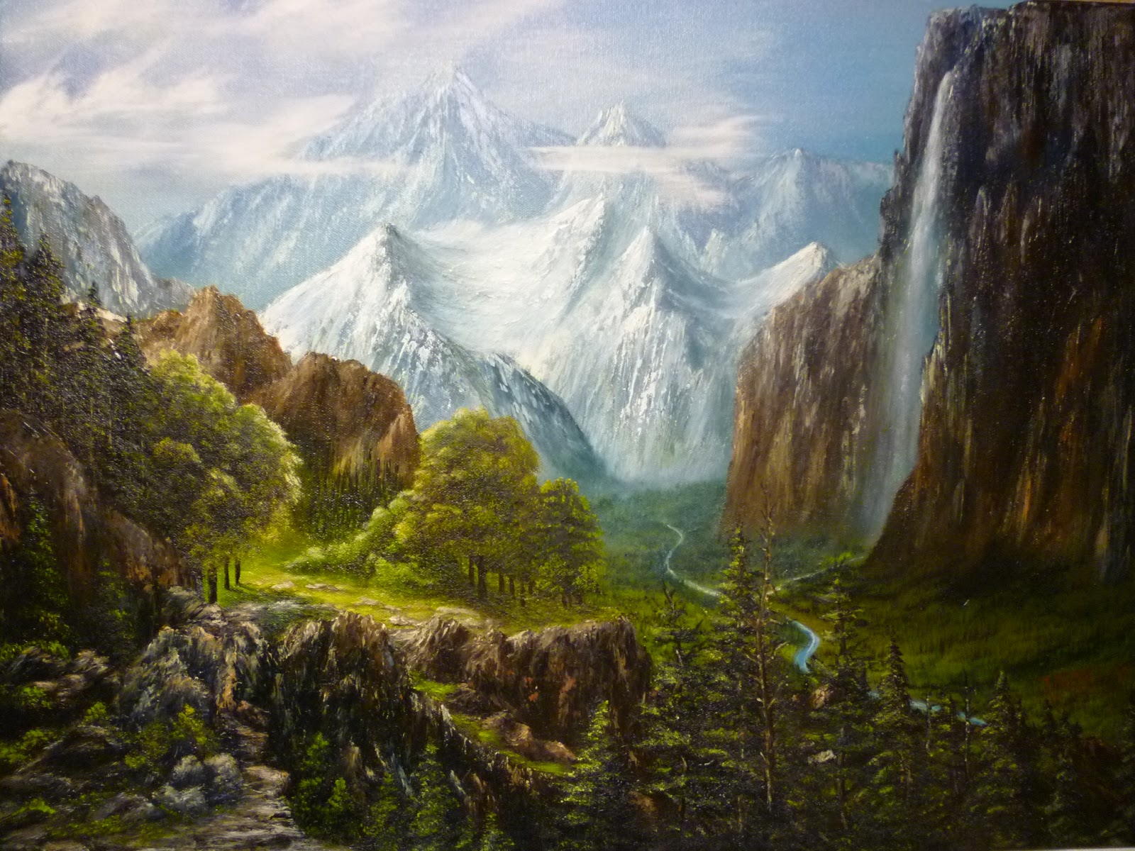 Don BelikBob Ross Painting Classes 2013  2016 Gallery