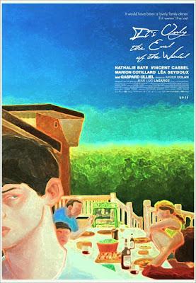 'Solo el fin del mundo' de Xavier Dolan - Poster Canada