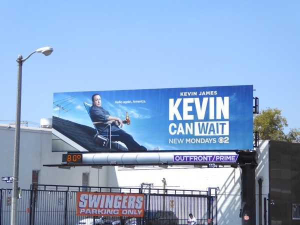 Kevin Can Wait TV series billboard