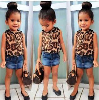 Gambar Foto Anak Perempuan Cantik Termodis