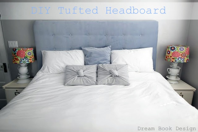 How To Make A Diy Tufted Headboard Dream Book Design