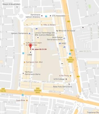 Lauderette Xpress Handwash Dryclean Speedwash location map