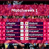 Premier League Match Day 1 Results