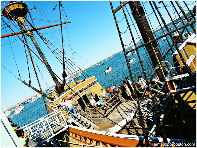 Mayflower II en Plymouth
