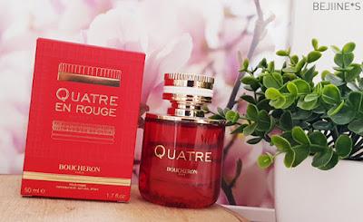 Parfum : Quatre en Rouge de Boucheron