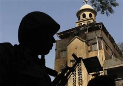 ننشر أول صورة لكاهن كنيسة مارمرقس بشبرا الخيمة المقتول على يد حارسها