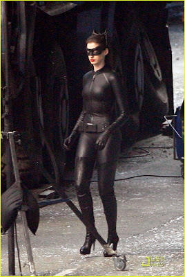 The Dark Knight Rises Second Look: Anne Hathaway as Catwoman