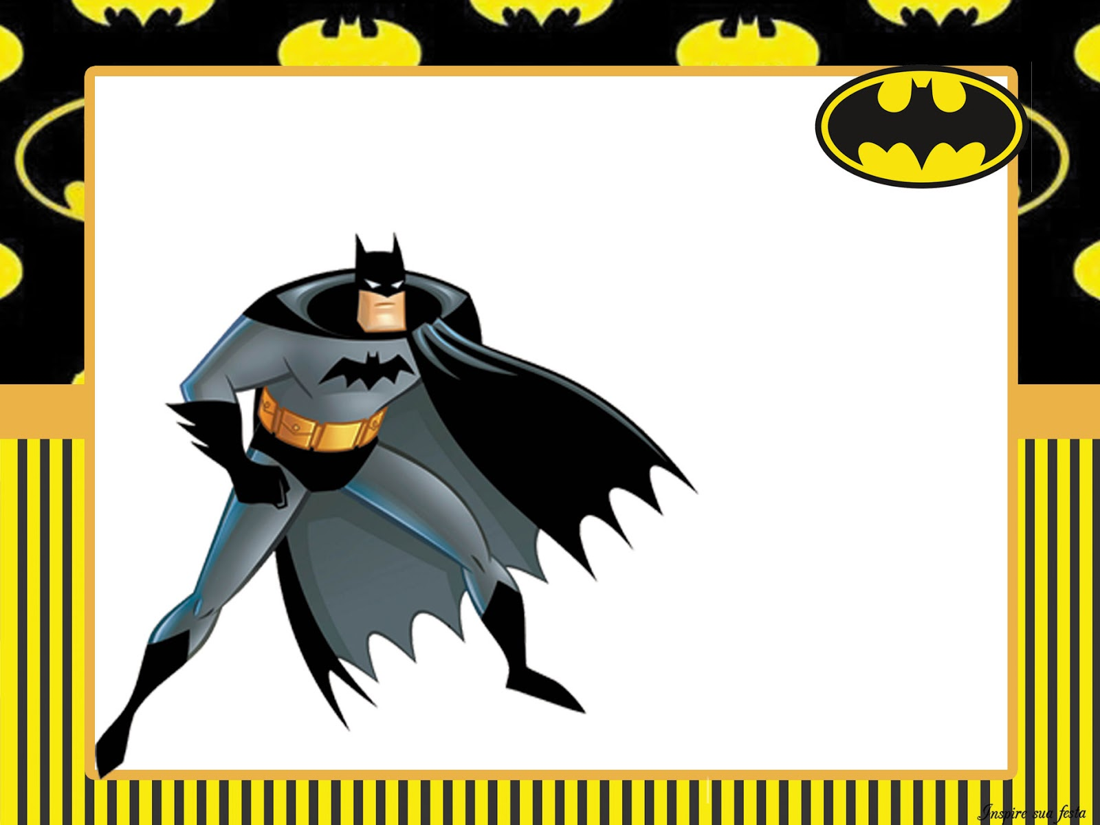 Fiesta De Batman Imprimibles Para Fiestas E Invitaciones