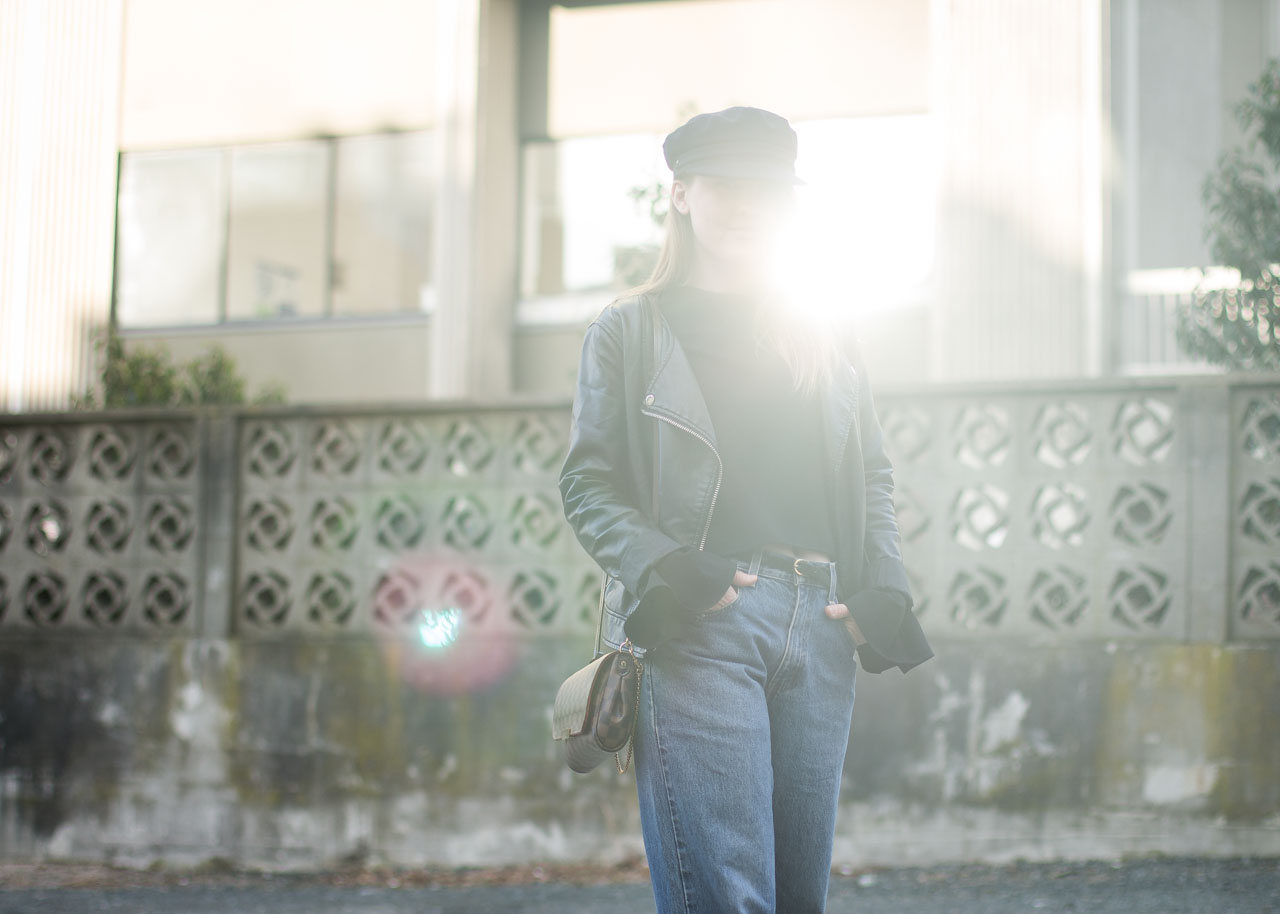 Vintage Levi's 569 - Outfit - Vancouver Fashion Blogger - In My Dreams