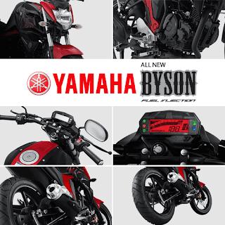 Fitur dan Spesifikasi Yamaha Byson FI New Injection