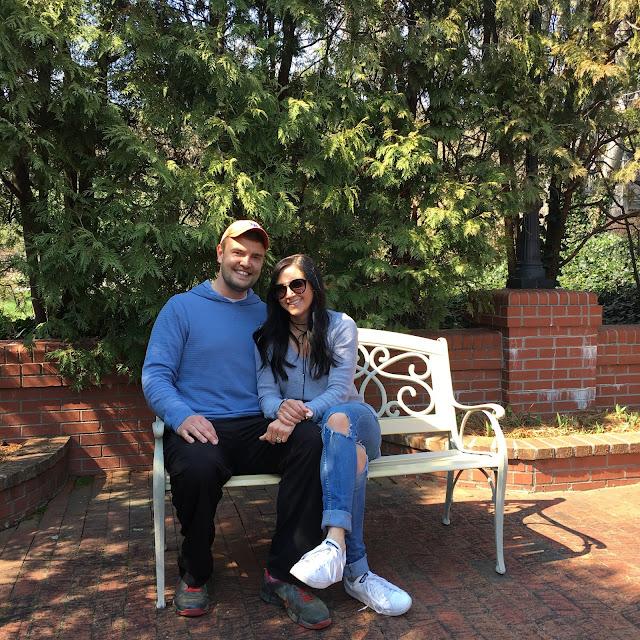 The Biltmore gardens, Asheville, NC