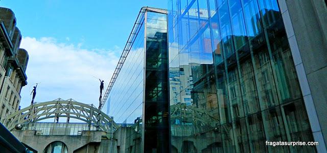 Arquitetura modernista em Bruxelas