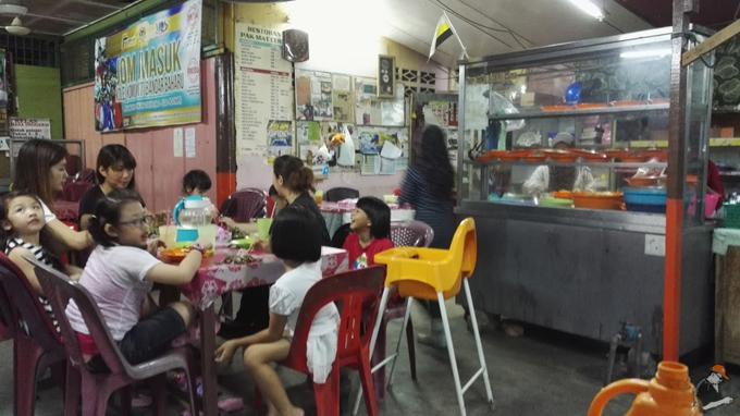 Kedai Pak Mat Kerang Meriah Ramadhan