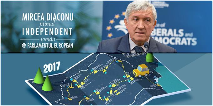 Europarlamentarul Mircea Diaconu ajunge la Vatra Dornei în luna mai ... Cazinoul dornean este motivul vizitei !