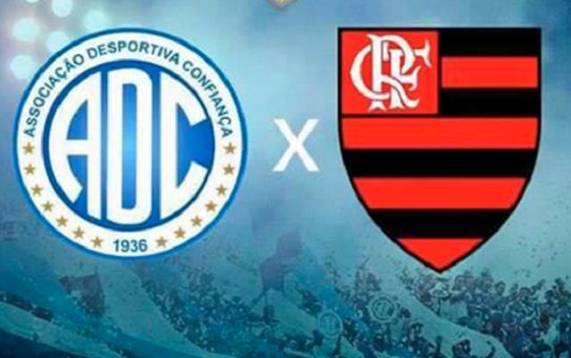 Fim do impasse, Confiança entrefará Flamengo na arena Batistão