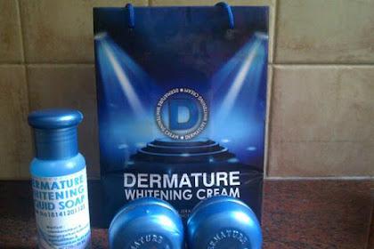 Dermature Whitening Skincare BPOM Pemutih Wajah