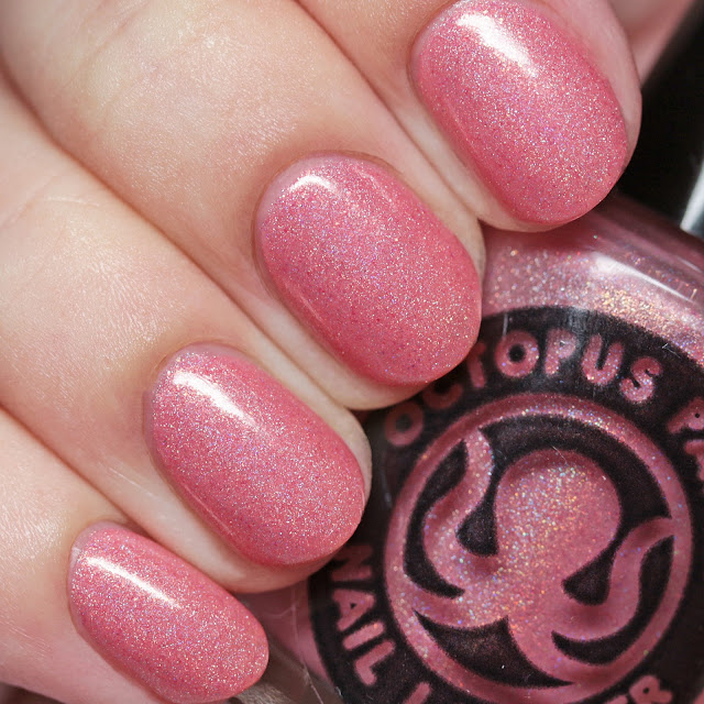 Octopus Party Nail Lacquer Coral Hygiene