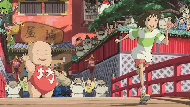 Spirited Away (Mon to Chihiro no Kamikakushi) - Top Isekai Anime (Main Character Trapped in Another World)