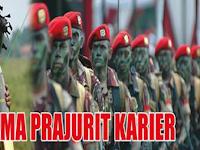 Penerimaan Tamtama PK TNI AD 2015