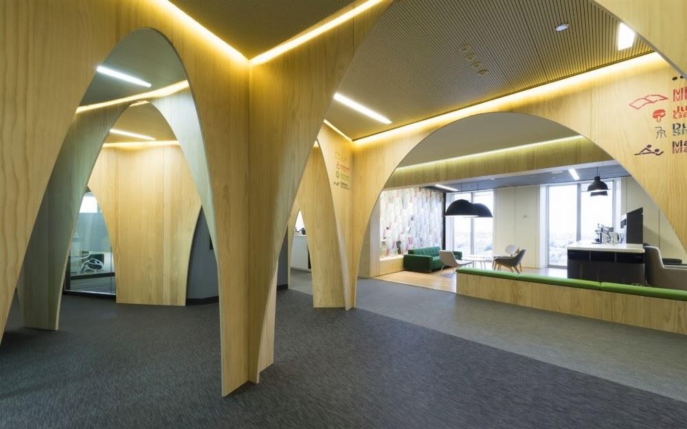 Marzua: Google Madrid HQ por Jump Studios