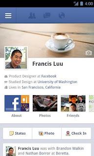 Facebook rau hauv v1.8.1