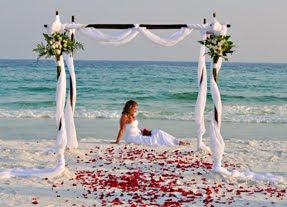 Pristine Beaches On The Florida Panhandle Emerald Coast Draw Thousands Of Tourists Each Year To Destin Area Beach Weddings