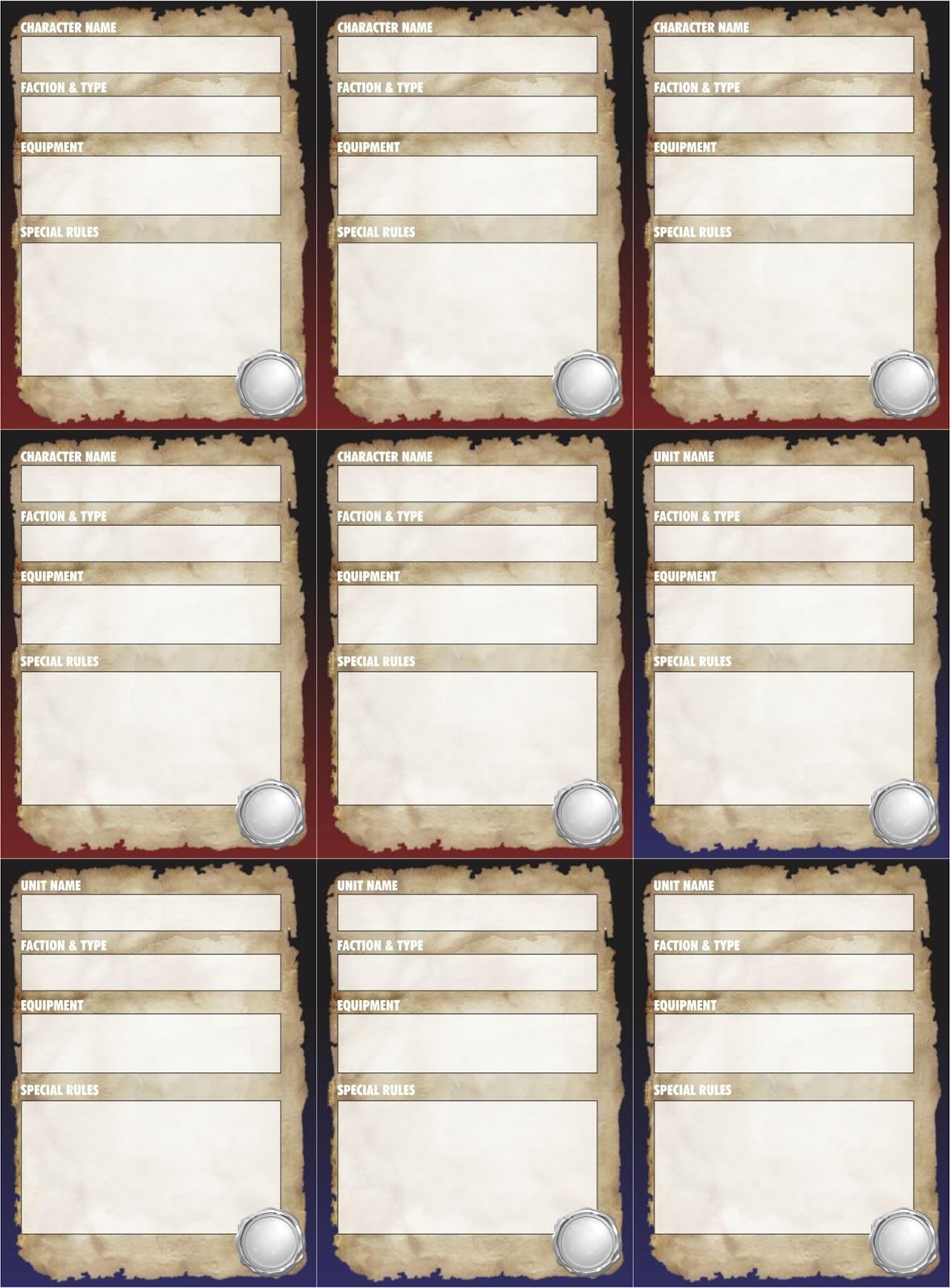 league event card