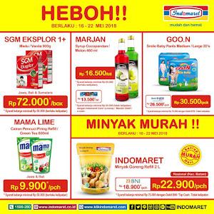 Promo Heboh Indomaret Susu Dan Minyak Murah 16 - 22 Mei 2018