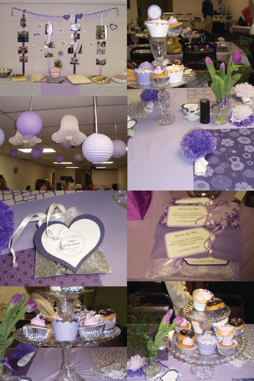 wedding shower decoration ideas the 2010 s a royal purple bridal shower 1146