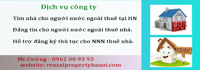 Dịch vụ cho người nước ngoài thuê nhà tại Việt Nam