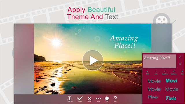 تحميل برنامج صانع الافلام Movie Creator : Free Video Editor