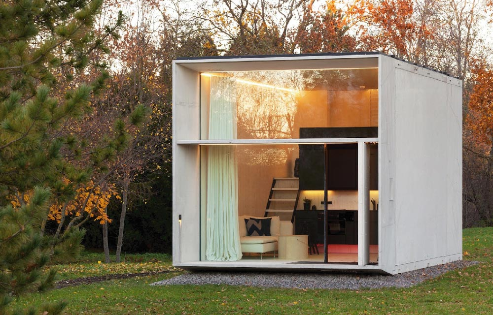 Una casa trasportabile passiva e intelligente  Blog di arredamento e interni  Dettagli Home Decor