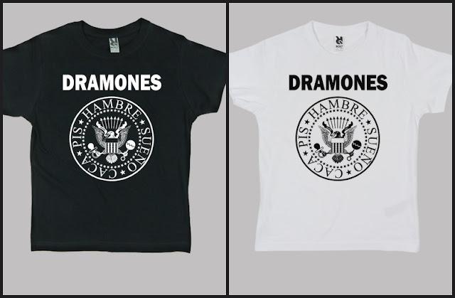 Camiseta niño DRAMONES