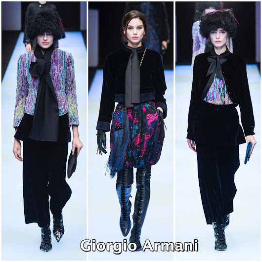 Giorgio Armani - Milán Fashion Week OI 2018/19