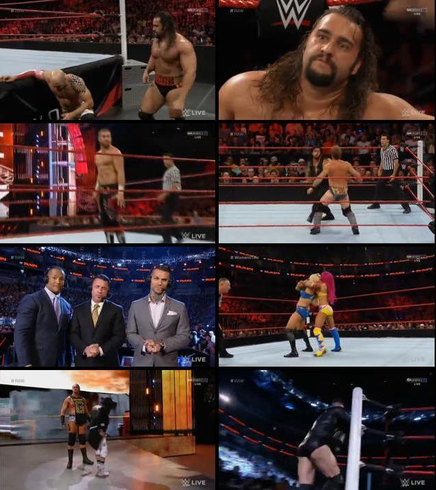 WWE Monday Night Raw 25 July 2016 HDTV 480p