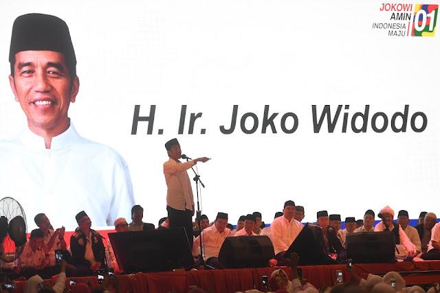 Jokowi : Kalau 17 April Kalah, Awas Sumatera Utara
