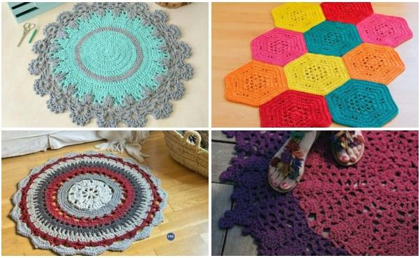Tapete De Croche Redondo Com Grafico Tapete De Barbante Como Fazer
