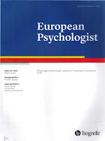 copeta revistă European Psychologist